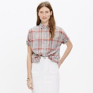Made well Courier Shirt in kerchief plaid